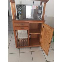 Mueble De Cocina Para Horno De Microondas 100% Madera