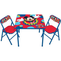Set De Mesas Con Sillas De Disney Casa Club D Mickey Mouse