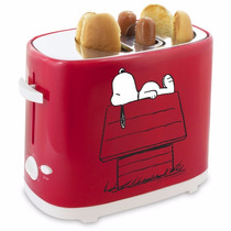Tostador Maquina Para Hacer Hot Dogs Snoopy Dog Ajustable