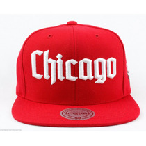 Gorra Chicago Bulls Nba Authentic Mitchell & Ness, Gothic