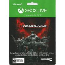 Membresia De 3 Meses Xbox Live Gold