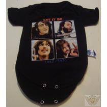 The Beatles Pañalero Bebe Let It Be 6-12 Mese Heavy Danbr68
