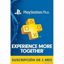 Playstation Plus (1 Mes/30 Días) - Entrega Inmediata!