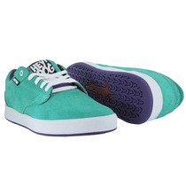Tenis De Skate Baratos Heydog Bulldog Aqua 24 Mx Shoes