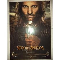 Poster De Cine El Señor De Los Anillos El Retorno Del Rey