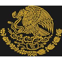 3 Ponchados Aguila Escudo Mexico
