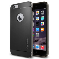 Funda Spigen Neo Hybrid Metal Iphone 6/6s Plus - Space Gray