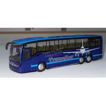 1:64 Mercedes Benz Setra Azul Autobus Fricción