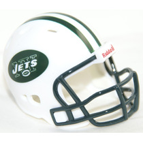 Casco Nfl Pocket Revolution Y Banderin Nfl New York Jets
