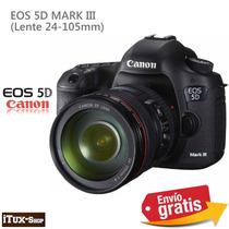 Canon 5d Mark Iii Camara Lente 24-105 Mm - Envio Gratis -