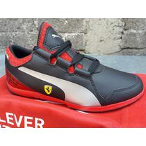 Tenis Puma Ferrari, Originales, Mod. Valorosso Sf Jr, 23mx