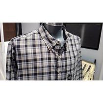 Camisa Casual Cuadros Ll Bean Tallas Extra 2xl 52-54 Cuadros