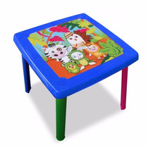 Mesa Con 4 Sillas Para Niños