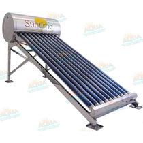 Calentador Solar 130 Litros. Acero Inoxidable. 10 Tubos