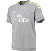Jersey Niño Real Madrid 20015 2016 100% Original Adidas Gris