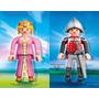 Playmobil 4895 4896 Caballero Y Princesa Xxl 65cm Retromex