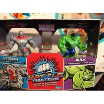 Juego De Mesa Choqué De Súper Héroes. Hulk Vs Ultron Hasbro
