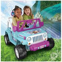 Frozen Jeep Power Wheels Edicion Limitada