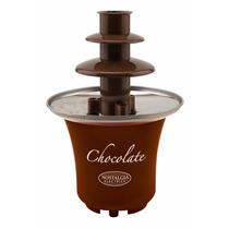 Fuente De Chocolate Pequeña Tipo Fondue Nostalgia Electrics