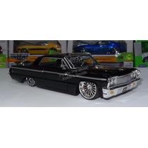 1:24 Chevrolet Impala 1964 Negro Jada Ranfla Display *