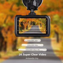 Z-edge Dvr Camara Auto Coche Dashboard Dash Cam 2k
