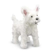 West Highland Terrier De Peluche Tamaño Y Consistencia Real