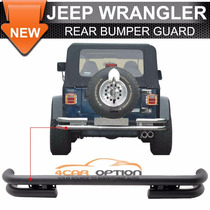 Jeep Wrangler Defensa Trasera Tubular 1997 Al 2006