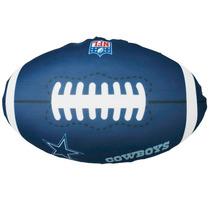 Cojin De Microperlas Balon Cowboys Futbol Americano Concord