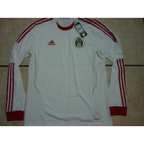 Jersey Adidas Formotion Seleccion Mexicana Manga Larga 2013