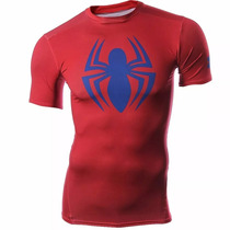 Playera Spiderman Compression Heatgear Under Armour Ua139
