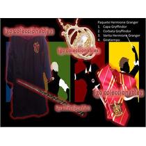 Paquete Hermione Granger Capa Varita Giratiempo Harry Potter