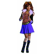Monster High Clawdeen Lobo Traje - Un Color - Pequeño