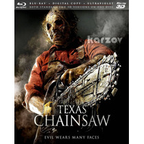 Texas Chainsaw 3d Copia Digital Ultravioleta Blu-ray 2d + 3d