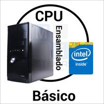 Cpu Ensamblado Basico J1800 4gb 160gb Mg