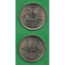 Grr-moneda De Egipto 20 Piastres 1992 - Mezquita Al Azhar