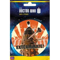 El Doctor Who Cartel - Exterminar Vinilo Pegatinas 10x15cm