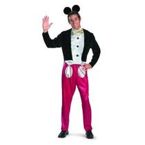 Disfraz Mickey Mouse Deluxe Para Hombre De Traje Adulto