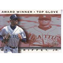 1995 Ultra Award Winner Top Glove Ken Griffey Jr Mariners