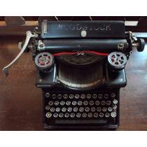Maquina De Escribir Woodstock Chicago Eua