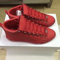 Tenis Balenciaga New Red
