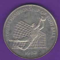 1 Dollar 1982 Jamaica Copa Mundial Fútbol España 82 - Vbf