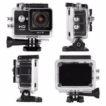 Camara Sumergible Tipo Go Pro 1080p Con Wifi Hasta 12 Mp
