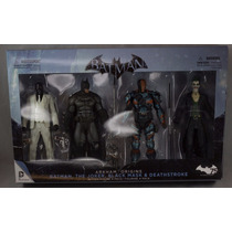Set De Arkham Origins Batman Joker,deathstroke ++ En Oferta