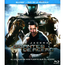 Bluray + Dvd Gigantes De Acero ( Real Steel ) 2011 - Shawn L