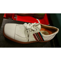 Zapatos De Golf Royal Albatross Italianos Hechos A Mano.