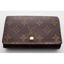 Cartera Louis Vuitton 100% Original Tresor Unisex Monogram