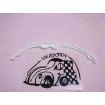 Empaque Hule Portaplaca Vocho 66-73 Blanco Pieza Vw (dhl)