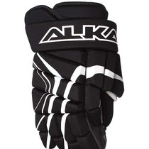 Guantes Para Hockey Alkali. Player Negro C/blanco