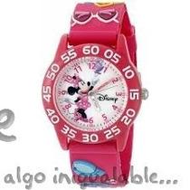Reloj Para Niños Minnie Mouse Rosa