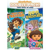 Dora La Exploradora Y Go! Diego Go! Función Doble Dvd